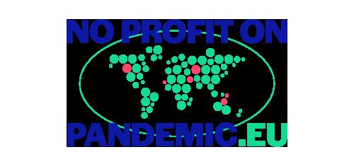 Pas de profit sur la pandémie